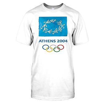 Athene 2004 - Griekenland zomer Olympische Mens T Shirt