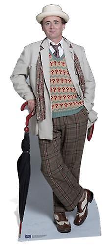 Le 7e Docteur Sylvester McCoy classique Doctor Who Lifesize Découpage cartonné / Standee