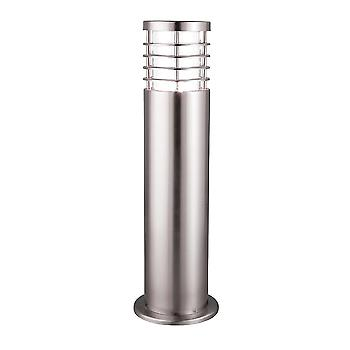 Searchlight 1556-450 Low Energy Satin Silver Outdoor Bollard Light
