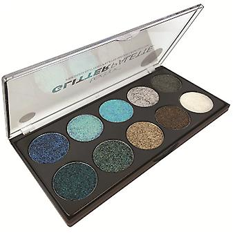 Technic Pressed Glitter Eye Shadow Palette - Get Your Glitter On