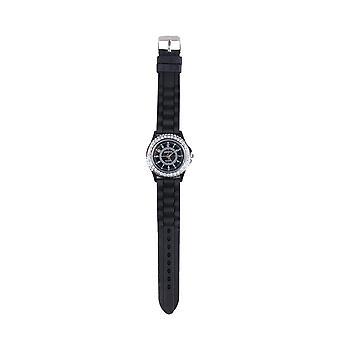 Reloj de Lovemystyle negro con detalle de Diamante