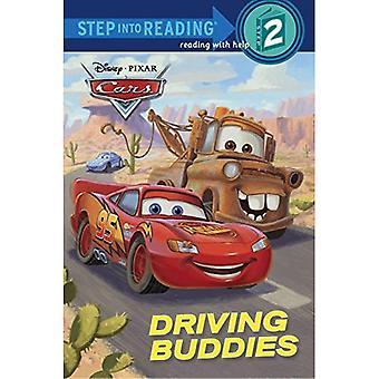 Auto's: Rijden vrienden (stap in lezing: een boek van stap 2)