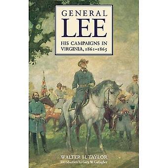 Général Lee, de ses campagnes en Virginie, 1861-1865: avec des réminiscences personnelles