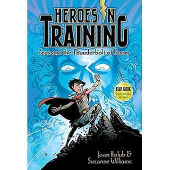 Zeus e il colpo di fulmine di Doom/Poseidon e il mare di Furore: eroi in formazione Flip Book #1-2 (eroi in formazione)