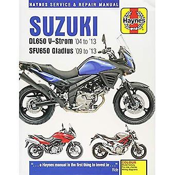 Suzuki Dl650 V-Strom & SFV650 Gladius: (04 - 13)