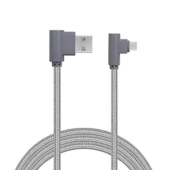 Charging Cable, Angled, Lightning-Grey