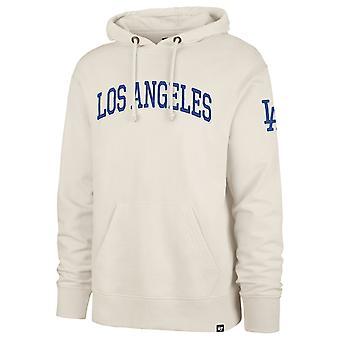 47 brand Hoody ATLAS - MLB Los Angeles Dodgers beige