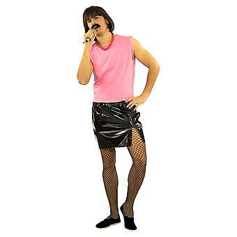 Freddy housewife costume 80s rock star singer break free