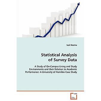 Análise estatística dos dados de pesquisa por Neema & Isak