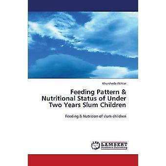 Feeding Pattern  Nutritional Status of Under Two Years Slum Children by Akhtar Khursheda
