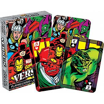 Marvel Comics Versus (col) set of 52 playing cards    (nm)