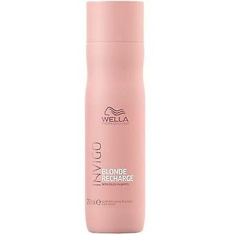 Wella Professionals Invigo Blonde Recharge Shampoo 250 ml (Cheveux , Shampoings)