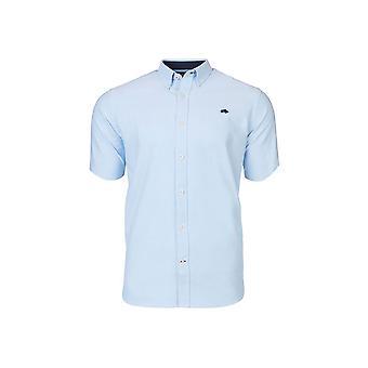 Short Sleeve Signature Poplin Shirt - Sky Blue