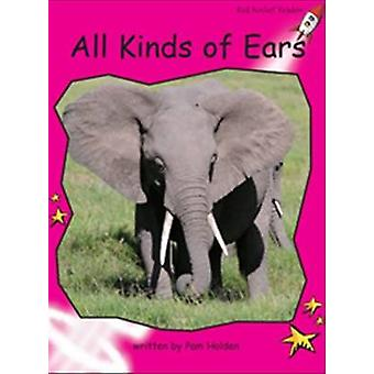 All Kinds of Ears by Pam Holden - 9781927197585 Book