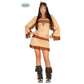 Sexy Indiase vrouw - kostuum voor dames carnaval Carnaval van wilde westen Apache