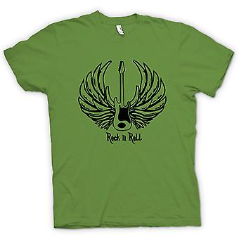 Kids T-shirt - Rock n Roll - gitaar Wings - muziek