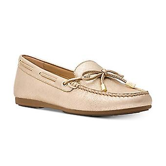 Michael Michael Kors Womens Sutton Leather Closed Toe Loafers