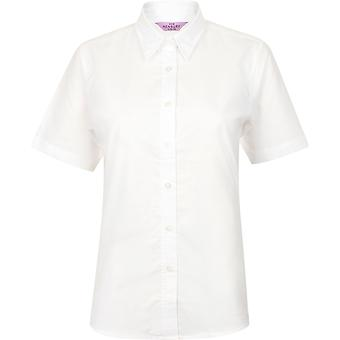 Henbury - Women's Ladies Short Sleeve Classic Oxford Shirt