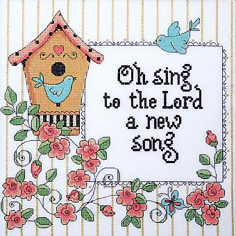 Heartfelt A New Song Counted Cross Stitch Kit 10
