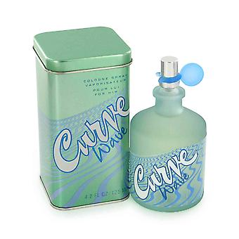 Curve Wave Men by Liz Claiborne 4.2 oz EDC Spray