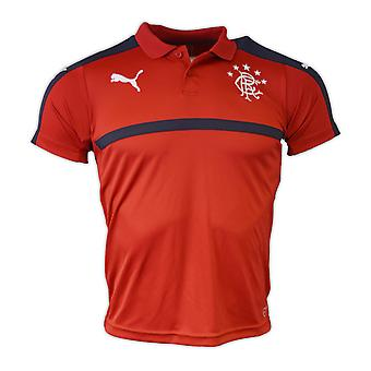 2016-2017 rangers Puma Polo Shirt (piment) - Kids