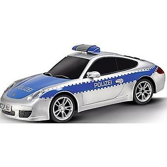 Carrera RC 370162092 Voiture de police Porsche 911 1:16 RC model car for beginners Electric Road version RWD