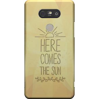 Here comes the sun cover for LG G5