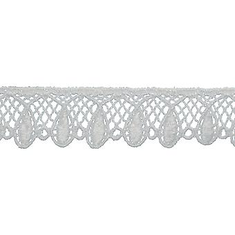 Tear Drop Edge Venice Lace Trim 7/8