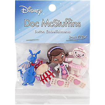 Dress It Up Licensed Embellishments-Disney Doc McStuffins DIULBTN-7731