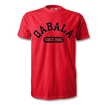 Qabala 2005 Established Football T-Shirt