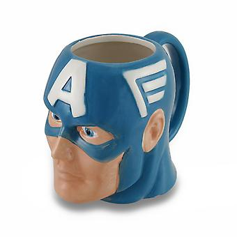 Marvel Comics Captain America keramiske te krus
