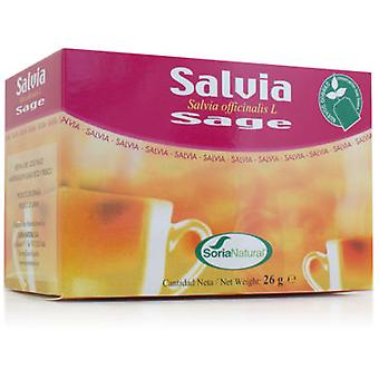 Soria Natural Salvia Infusion (Dietetics and nutrition)
