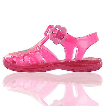 Peppa Pig Fuchsia Pink Jelly Sandals Beach Girls Kids Summer Sizes 3 to 9