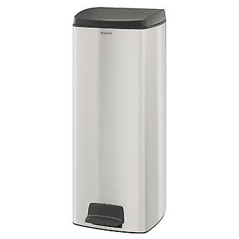 Brabantia 25 liters rektangulär Pedal Bin Fingerprint Proof