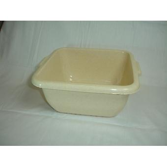 Plastic Square Deep Storage Bowl Oatmeal For Home Commercial Kitchen Catering