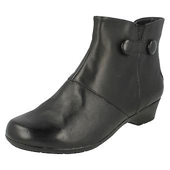 Дамы K, Clarks лодыжку ботинки Мерида Элла