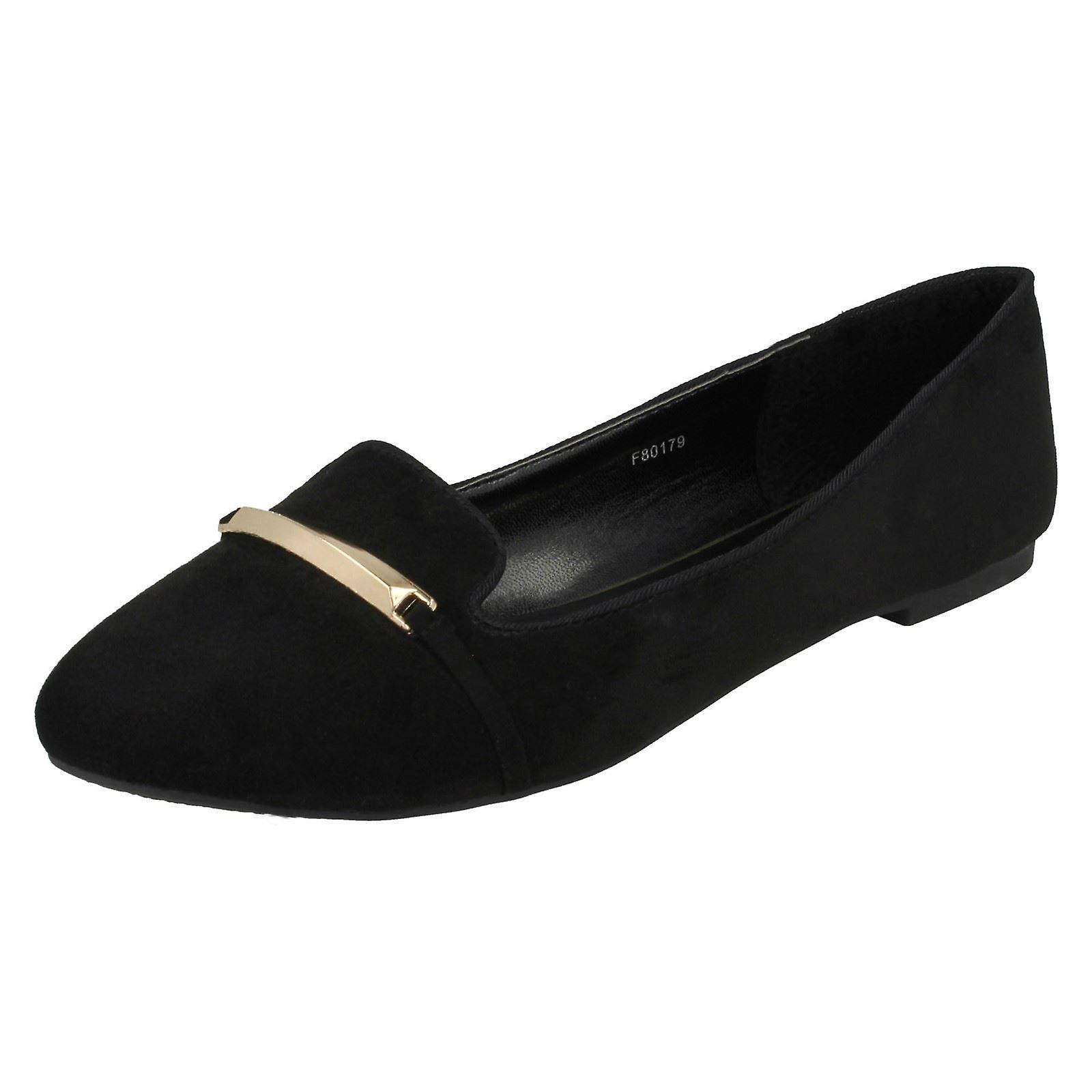 Damen-Spot auf Loafer Schuhe F80179