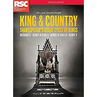 Shakespeare: King & Country [DVD] USA import