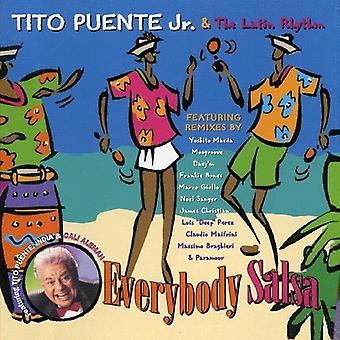 Tito Puente Jr. - Everybody Salsa [CD] USA import
