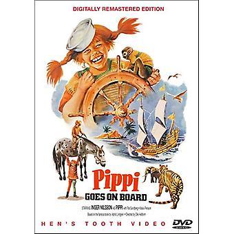Pippi går om bord på [DVD] USA import