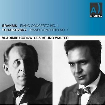 Brahms/Tjajkovskij - Brahms, Tjajkovskij: Piano Concertos No. 1 [CD] USA import