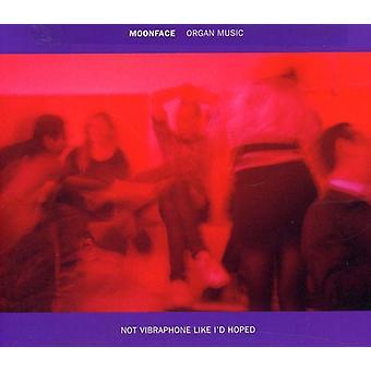 Moonface - Organ Music Not Vibraphone Like I'D Hope [CD] USA import