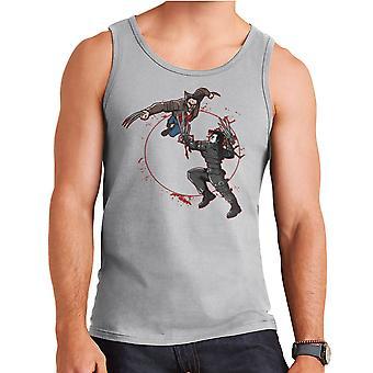 Blod Equinox Wolverine Vs Edward Scissorhands mænds Vest