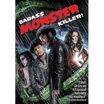Badass Monster Killer [DVD] USA importerer