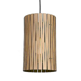 Graypants Selwyn Black Pendant Kerf Light