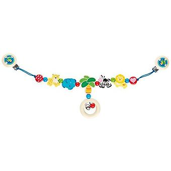 Goki Pram chain  with clips Africa (Toys , Preschool , Babies , Early Childhood Toys)