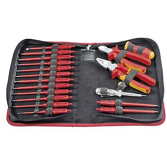 Felo Isolated Tool Set Zip-Bag (19 pcs.)