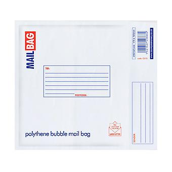 County Stationery Polythene Bubble Envelope Mail Bags (Pack Of 10)