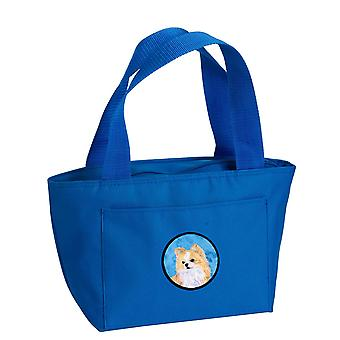 Carolines Treasures  SS4750-BU-8808 Blue Chihuahua  Lunch Bag or Doggie Bag SS47