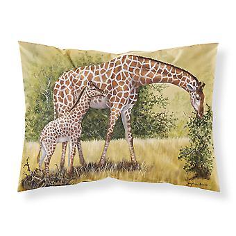 Giraffes by Daphne Baxter Fabric Standard Pillowcase